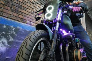 K400 CR: a 3D printed motorbike